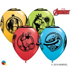 """11"""" Marvel's Avengers Special Ast  (25 ct.)"""