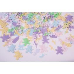Confetti Baby Assortment Multi Pastel 0.5oz