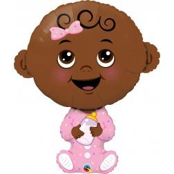 "38"" Baby Girl-Brown Skin Tone (pkgd)"
