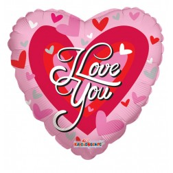 "09"" SV I Love You Big Heart"