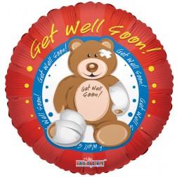 """09"""" PR Get Well Bear"""