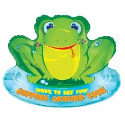 """28"""" SP: Frog Get Well"""