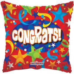 "18"" SP: SV Congrats Stars & Streamers"