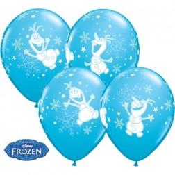 "11"" Olaf Dancing Robin's Egg Blue (25ct)"