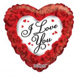"09"" I LOVE YOU CLASSIC ROSES"