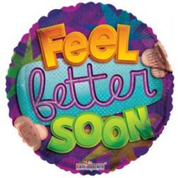 """09"""" PR Holo Feel Better Soon"""