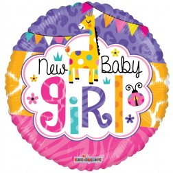 "09"" BABY GIRL JUNGLE GELLIBEAN"