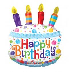 "14"" BIRTHDAY CAKE MINI SHAPE"