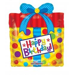 "14"" BIRTHDAY PRESENT MINI SHAPE"