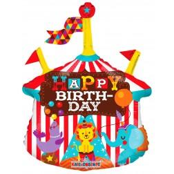 "14"" CIRCUS BIRTHDAY MINI SHAPE"