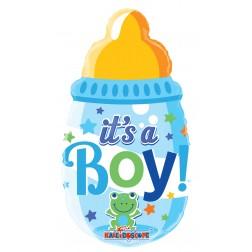 """14"""" BABY BOTTLE BOY MINI SHAPE"""
