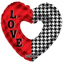 """09"""" PR Love Pattern Shape"""