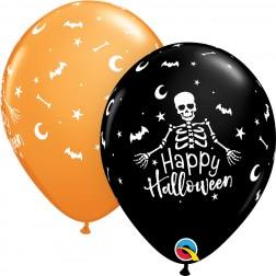 """11"""" Happy Halloween Skeleton (50ct.)"""
