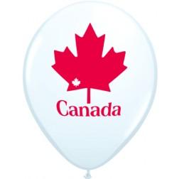 """11"""" Patriotic Maple Leaf  (50ct)"""