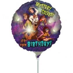 "09"" Scooby Birthday"