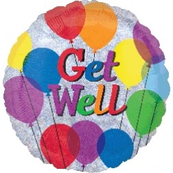 Holo: Get Well Balloons