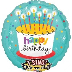 Sing-A-Tune: Striped Birthday Candles
