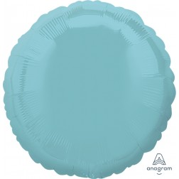 Iridescent Pearl Lite Blue Decorator Circle