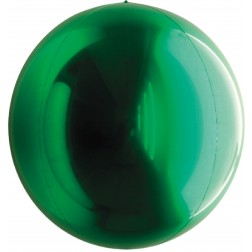 "14"" Metallic Green Balloon Ball"