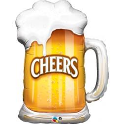 """35"""" Cheers! Beer Mug"""