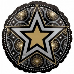 Glitter Stars Print