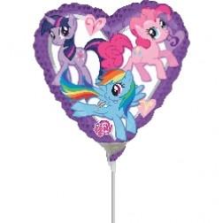 "09"" My Little Pony Heart"