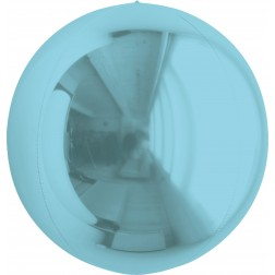 "7"" Metallic Pearl Blue Balloon Ball"