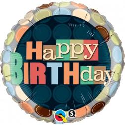 "18"" Birthday Dots"