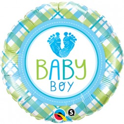 """18"""" Baby Boy LO(Feet)E"""