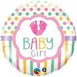 """18"""" Baby Girl LO(Feet)E"""