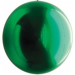 "24"" Metallic Green Balloon Ball"