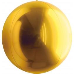"""32"""" Metallic True/Deep Gold Balloon Ball"""