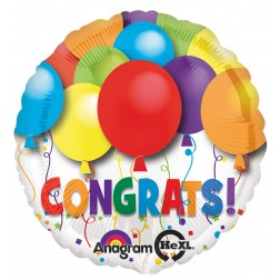 Bold Congratulations Balloons (OUT OF STOCK)