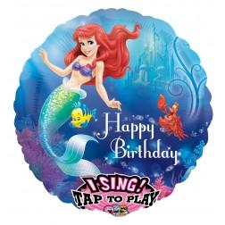 Sing-A-Tune Little Mermaid Happy Birthday