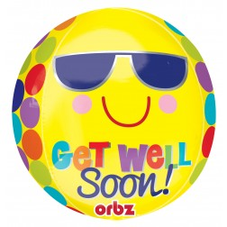 Orbz Bright Sunny Get Well Soon