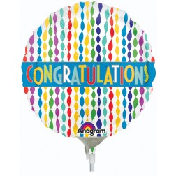 """04"""" Congratulations Banner in Streamers"""