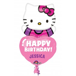 Personalized: SuperShape Hello Kitty