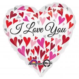 Jumbo Love You Happy Hearts