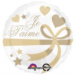 Standard Je T'aime Wrapped With Gold