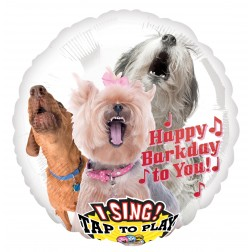 Sing-A-Tune Happy Bark Day to You