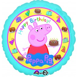 Standard Peppa Pig Happy Birthday