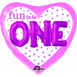 Multi-Balloon Fun to Be O-N-E Girl