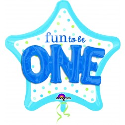 Multi-Balloon Fun to Be O-N-E Boy