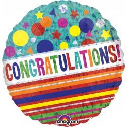 Standard Holographic Congratulations Sparkle