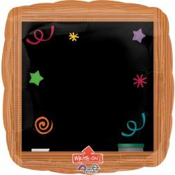 Jumbo  Write-On Wood Frame Black Board