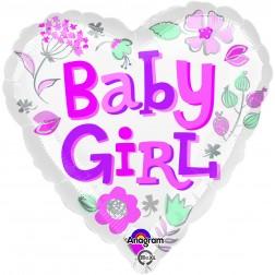 Standard Baby Girl Heart