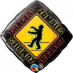 """18"""" Zombies Crossing"""