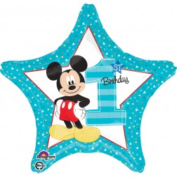 Standard Star Mickey 1st Birthday