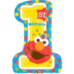 SuperShape Sesame Street 1st Brithday
