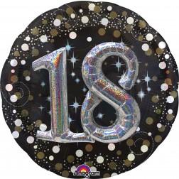 Multi-Balloon Sparkling Birthday 18